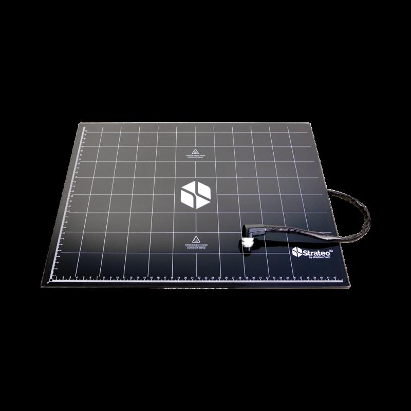 Kit plateau avec patch chauffant pour Strateo3D IDEX420