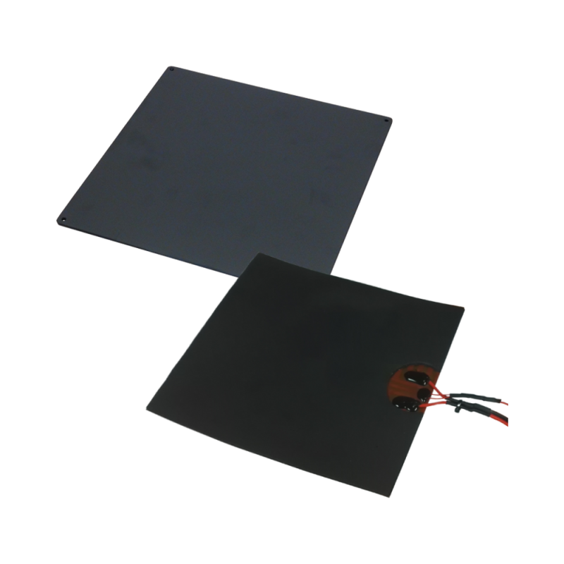 Kit aluminium board, with 24V 140 W heatpatch and thermistor fro I3 Metal Motion