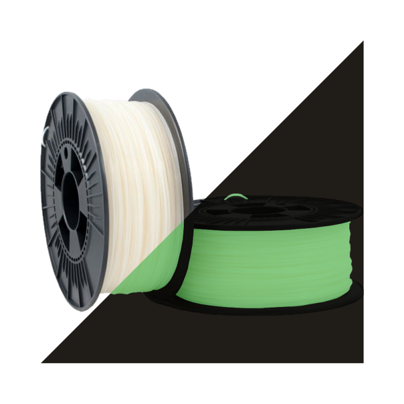 PLA Premium 1.75mm Glow in the dark 1kg