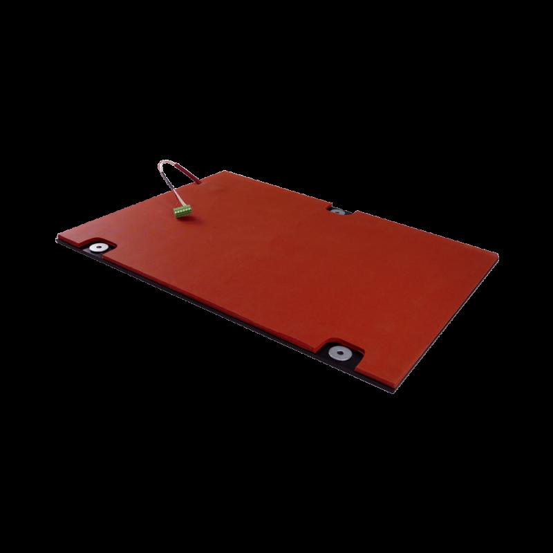 Kit plateau chauffant borosilicate avec patch 220V et thermistance