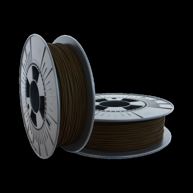 3mm Ebony Wood filament 500g