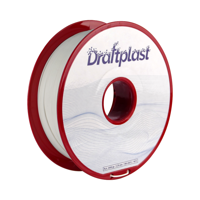 PLA Draftplast 1.75mm White 1kg