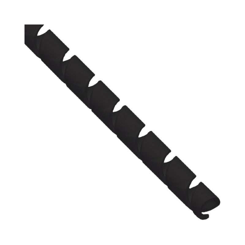 Gaine spirale de 10 mm au mètre.