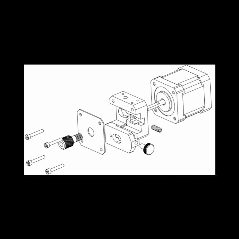 MicroDelta Rework 3D printer