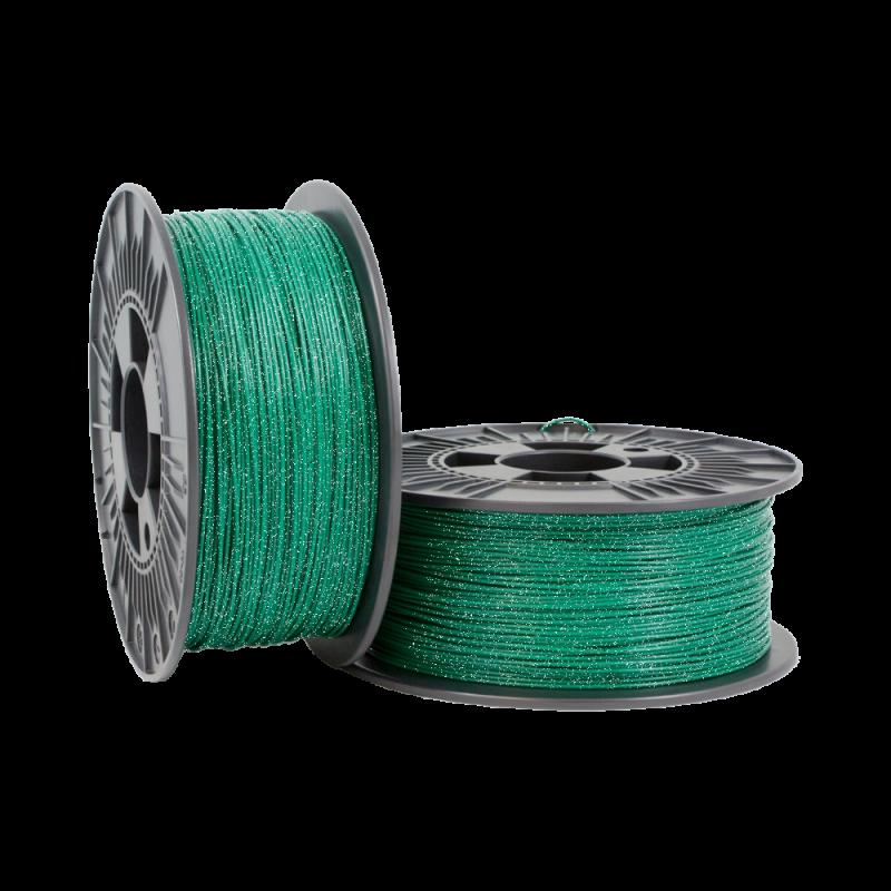PLA Glitter 1.75mm metallic Green