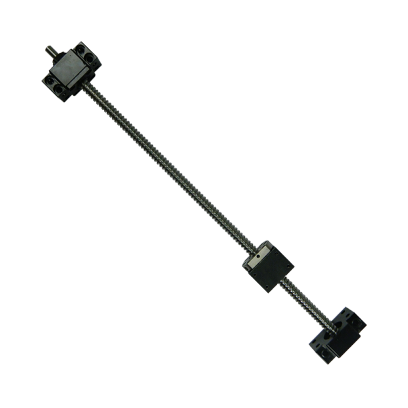 Kit 16 mm ball screw 600mm with nut, blocks and ball nut housing