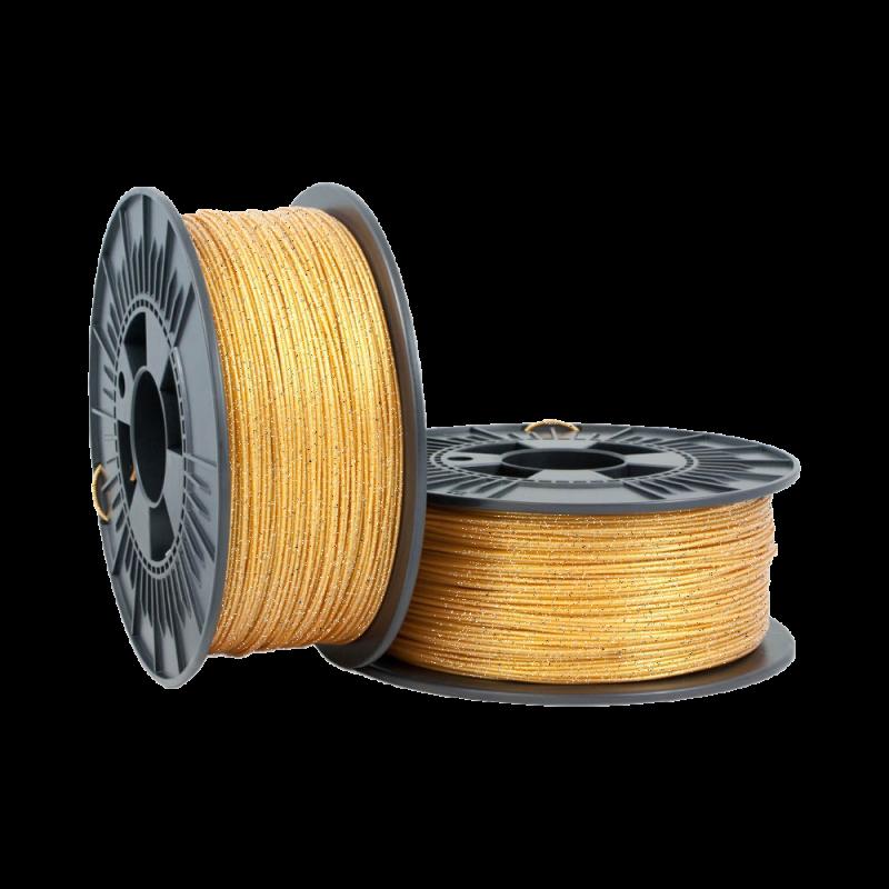 PLA Glitter 1.75mm Metallic Gold