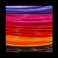 Pack de 5 échantillons de PLA Premium 1.75mm