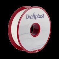 PLA Draftplast 1.75mm Blanc 1kg