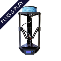 MicroDelta Rework 3D printer plug & play