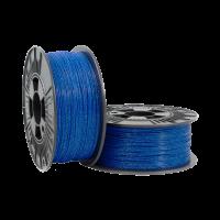 PLA Pailleté 1.75mm Bleu métallisé